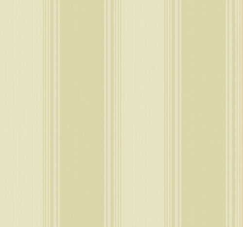 Classic Stripe Wallpaper in Gold KT90406 from Wallquest