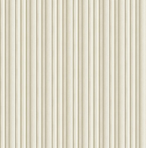 3D Stripe Wallpaper in Light Gold DS61505 by Wallquest