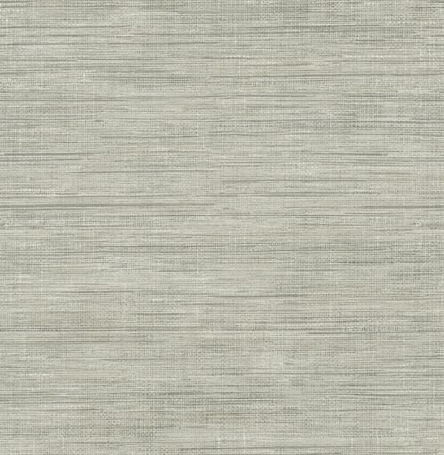 A-Street Prints by Brewster 2785-24859 Graphite Faux Gras Wallpaper Grey