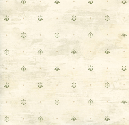 Chesapeake by Brewster HTM49475 Outdoors Polka Neutral Pinecone Ditzy Toss Wallpaper