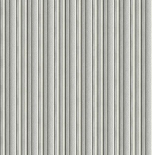 3D Stripe Wallpaper in Steel DS61508 by Wallquest
