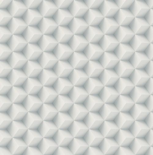 3D Cubes Wallpaper in Dusty Blue DS61802 by Wallquest