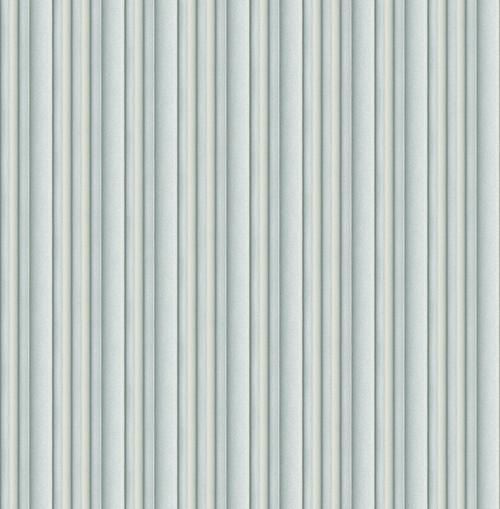3D Stripe Wallpaper in Dusty Blue DS61504 by Wallquest