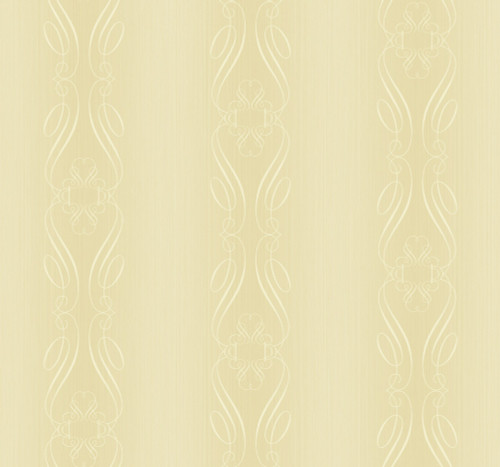 Calligraphy Stripe Wallpaper in Gold ET40108 from Wallquest