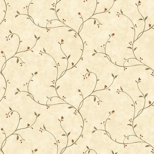 Chesapeake by Brewster BBC09151 Gemma Wheat Tin Star Trail Wallpaper Wallpaper