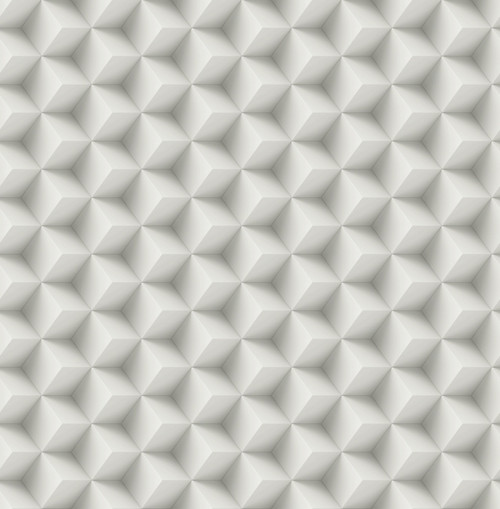 3D Cubes Wallpaper in Grey DS61800 by Wallquest