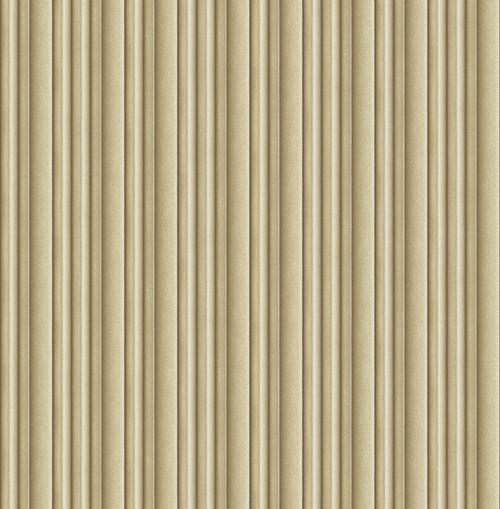 3D Stripe Wallpaper in Warm Gold DS61507 by Wallquest