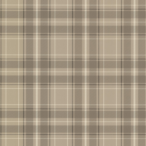 Beacon House by Brewster 2604-21226 Oxford Caledonia Grey Plaid Wallpaper