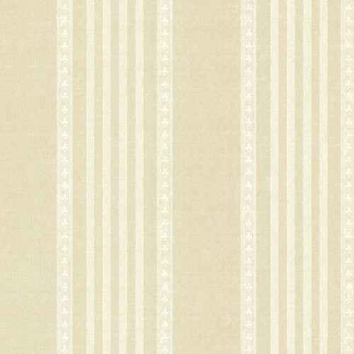 Beacon House by Brewster 2614-21046 Adria Champagne Jacquard Stripe Wallpaper