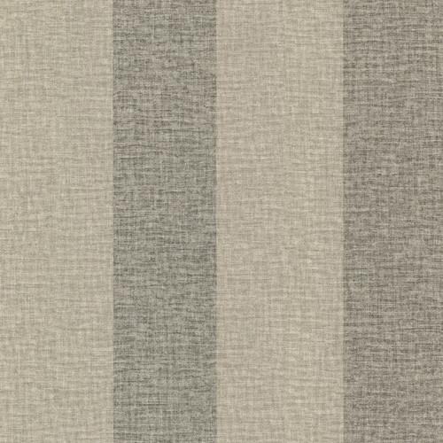 Brewster Advantage Neutral / Black / White 2773-449631 Dash Taupe Linen Stripe Wallpaper