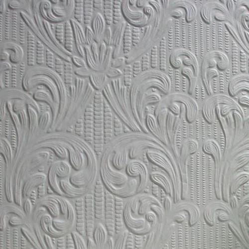 Brewster RD0630 Charles Paintable Supaglypta Wallpaper white