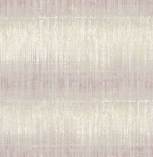 A-Street Prints by Brewster 2656-004048 Sanctuary Lavender Texture Stripe Wallpaper