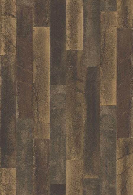 A-Street Prints by Brewster 2540-24049 Restored Antique Floorboads Brown Wood Wallpaper