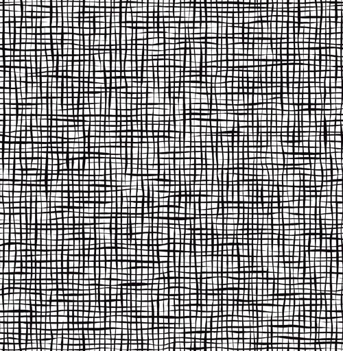 A-Street Prints by Brewster 2764-24301 Mistral Shanti Black Grid Wallpaper