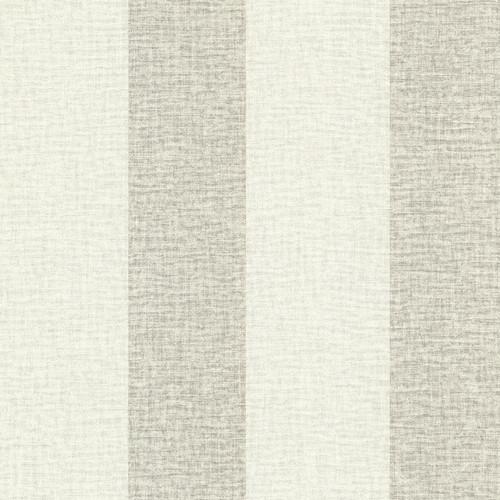 Brewster Advantage Neutral / Black / White 2773-449624 Dash Beige Linen Stripe Wallpaper