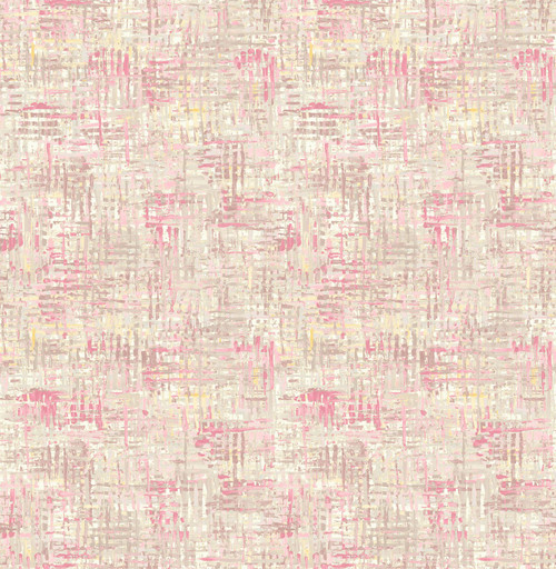 A-Street Prints by Brewster 2656-004029 Avalon Pink Weave Wallpaper