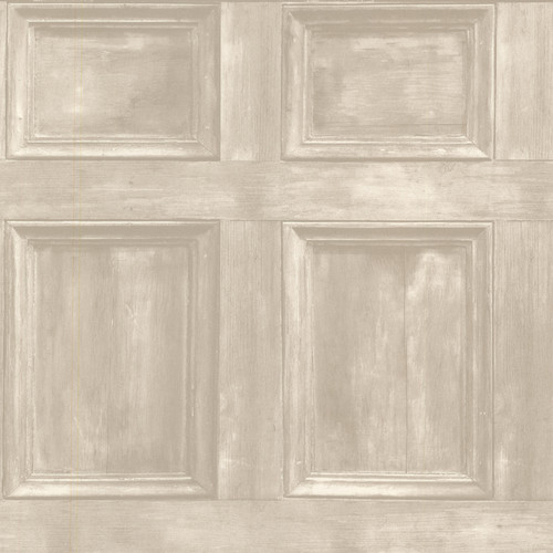 Beacon House by Brewster 2604-21228 Oxford Club Room Beach Wood Panels Wallpaper
