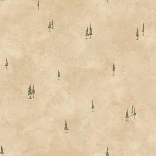 Chesapeake by Brewster HTM51085 Outdoors Pinnacle Taupe Tall Tree Toss Wallpaper
