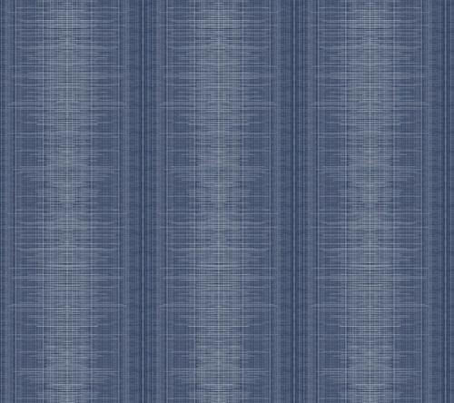 York Silk Weave Stripe Wallpaper Navy TL1962 Handpainted Traditionals