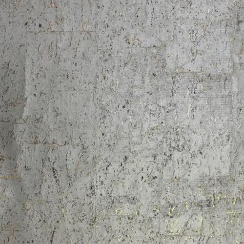 York Wallcoverings DL2963 Candice Olson Natural Splendor Cork Wallpaper  Warm Silver