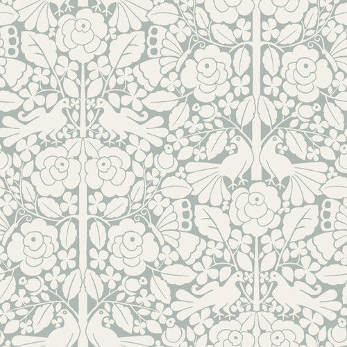 York Magnolia Home 3 Fairy Tales Wallpaper, Blue