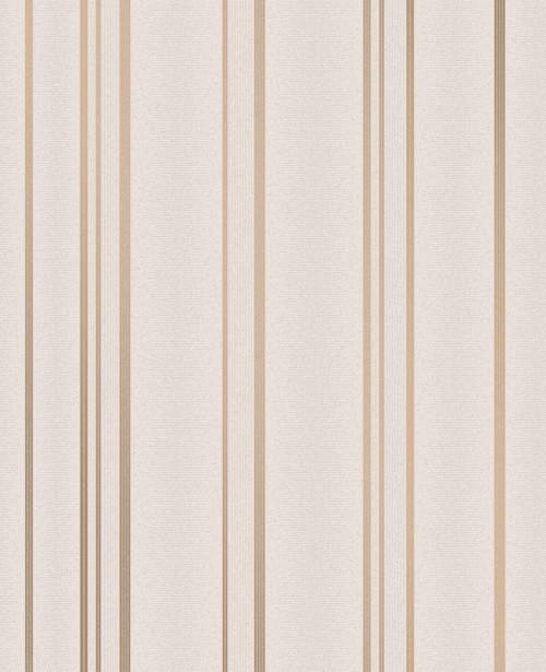 Advantage by Brewster 2834-42347 Advantage Metallics Thierry Rose Gold Stripe Wallpaper