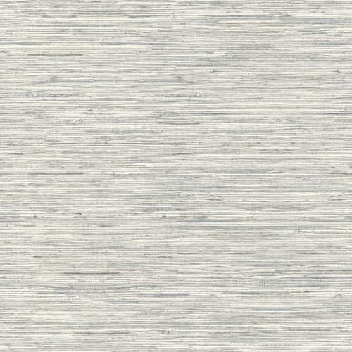 RoomMates RMK11078WP Grasscloth Grey Peel & Stick Wallpaper Grey