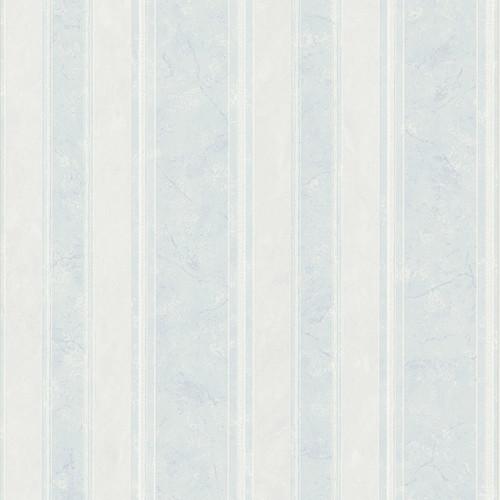 Brewster 2704-63807 For Your Bath III Pippa Light Blue Stripe Wallpaper