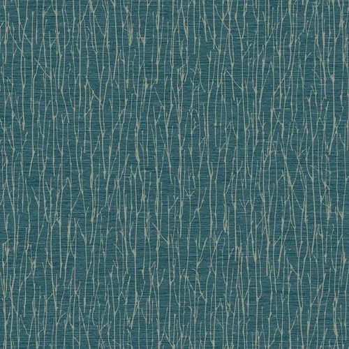 York Wallcoverings OG0553 Antonina Vella Elegant Earth Woodland Twigs Wallpaper Navy