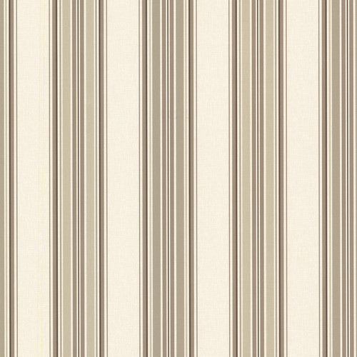 Beacon House by Brewster 2604-21210 Oxford Marine Wheat Sailor Stripe Wallpaper