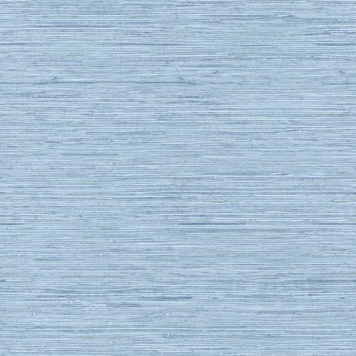 York Wallcoverings Botanical Fantasy WB5504 Horizontal Grasscloth Wallpaper, Blue