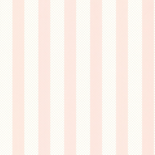 Brewster 2704-23208 For Your Bath III Ditsy Pink Trellis Stripe Wallpaper