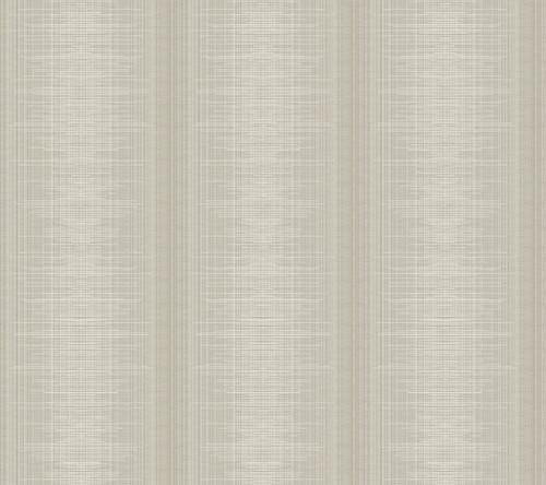 York Silk Weave Stripe Wallpaper Light Brown TL1959 Handpainted Traditionals