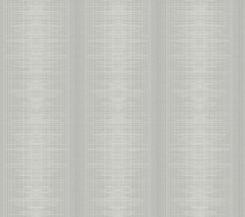York Silk Weave Stripe Wallpaper Gray TL1961 Handpainted Traditionals