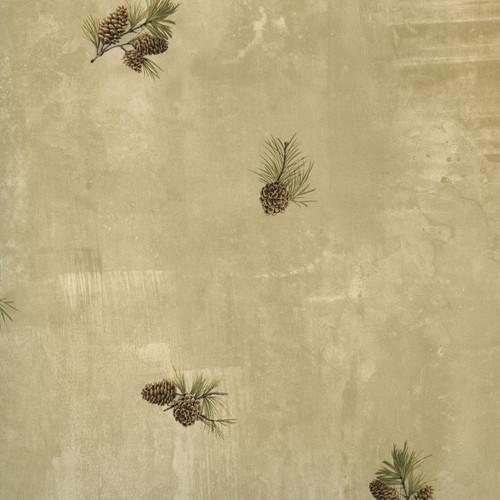 Chesapeake by Brewster HTM49467 Outdoors Jensen Sand Pinecone Toss Wallpaper