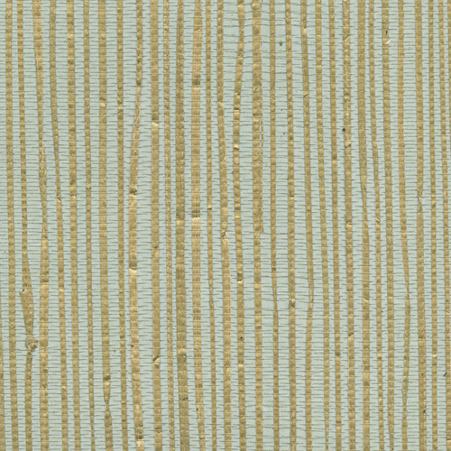 Kenneth James by Brewster 2622-30249 Jade Arina Turquoise Grasscloth Wallpaper