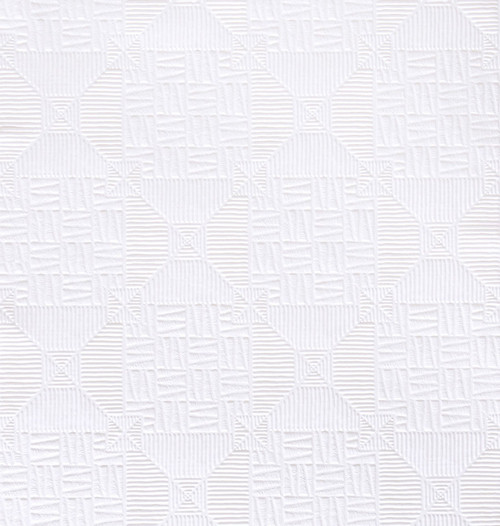 Brewster RD0145 Inca Paintable Tribal Wallpaper white