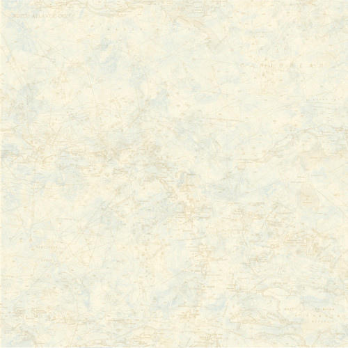 Chesapeake by Brewster HTM16176 Outdoors Leebs Off-White Nautical Chart Wallpaper
