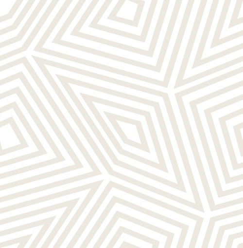 A-Street Prints by Brewster 2785-24829 Sterling Kaleidoscope Wallpaper Grey