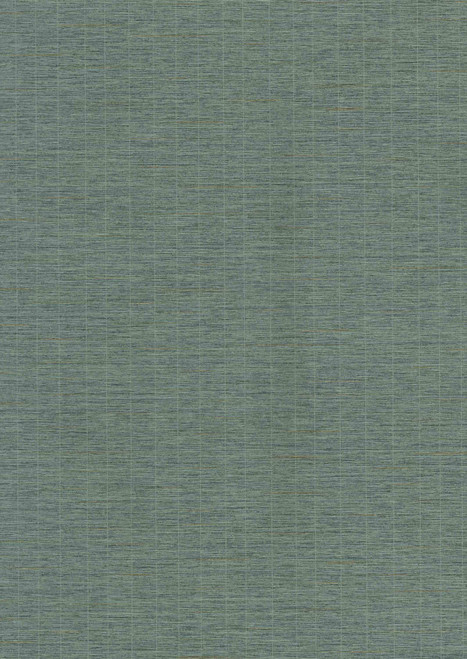 York Wallcoverings ET4063 750 Home Weave with Pinstripe Wallpaper Teal