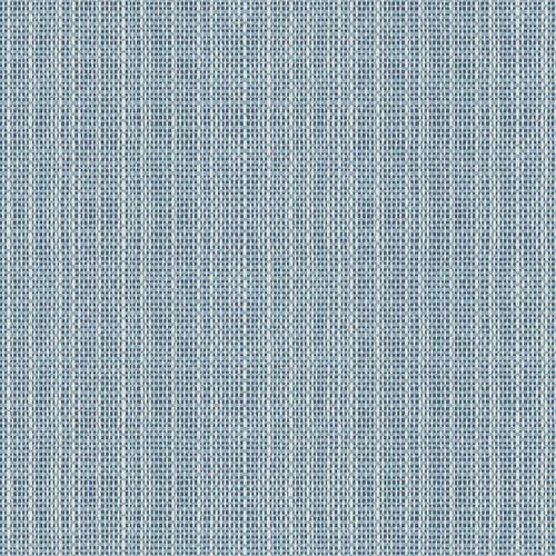 Chesapeake by Brewster 3113-016910 Seaside Living Kent Blue Faux Grasscloth Wallpaper