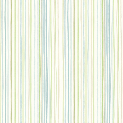 Beacon House by Brewster 2605-21634 Rosemore Estelle Blue Watercolor Stripe Wallpaper