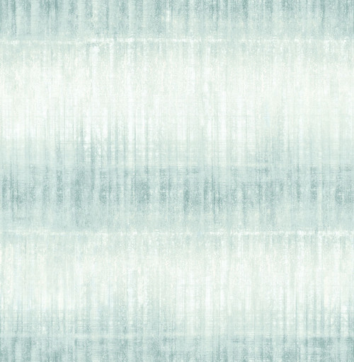 A-Street Prints by Brewster 2656-004047 Sanctuary Aquamarine Ombre Stripe Wallpaper