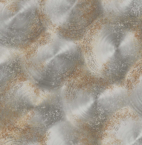 A-Street Prints by Brewster 2701-22337 Reclaimed Tarnished Metal Silver Metallic Texture Wallpaper