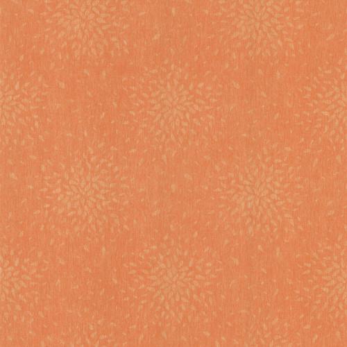 Brewster 2532-62104 Bath Bath Bath IV Summer Orange Modern Floral Wallpaper