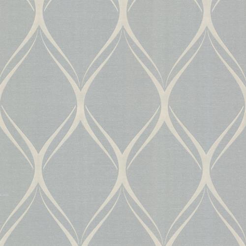 Decorline by Brewster 482-DL31084 Platinum Gustav Grey Geometric Wallpaper