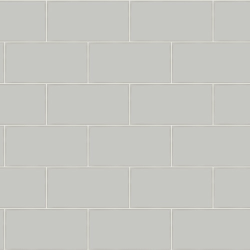Chesapeake by Brewster 3115-12493 Freedom Grey Subway Tile Wallpaper