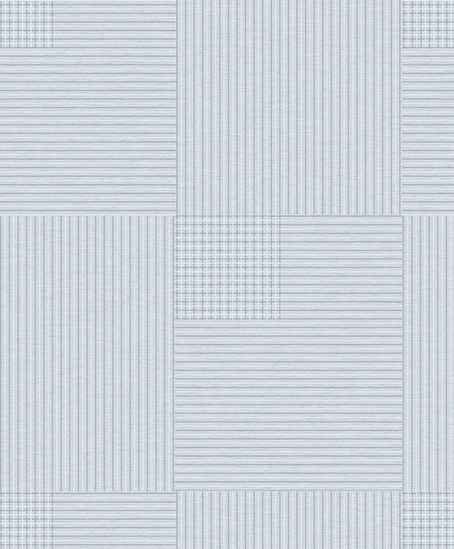 Brewster 2809-IH18404A Advantage Geo Ronald Light Blue Squares Wallpaper Light Blue