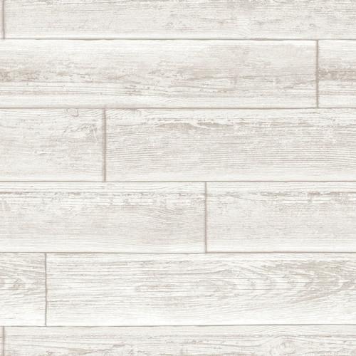 NuWallpaper by Brewster NU1930 Serene Cream Peel & Stick Wallpaper
