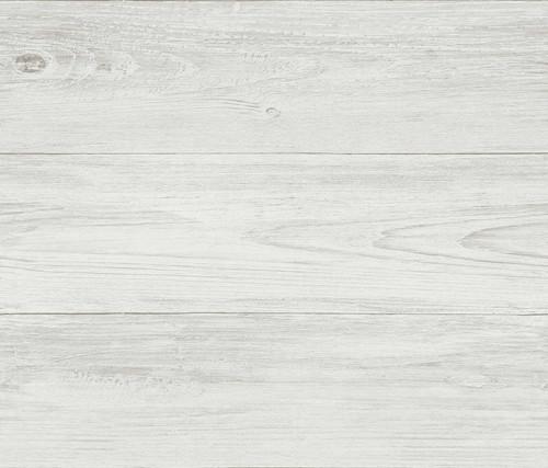 Chesapeake by Brewster 3113-64228 Seaside Living Mapleton Grey Faux Wood Wallpaper